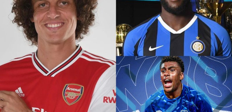 Transfer deadline day in Europe: Luiz, Lukaku, Iwobi and all major moves as window closes