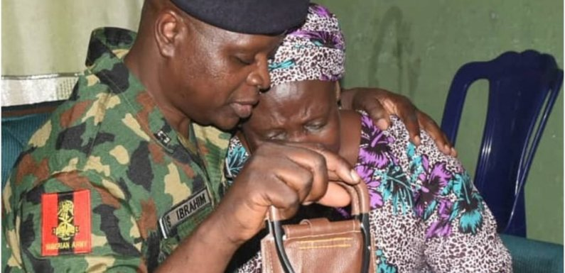NYSC DG visits mother of missing corps member [PHOTOS]