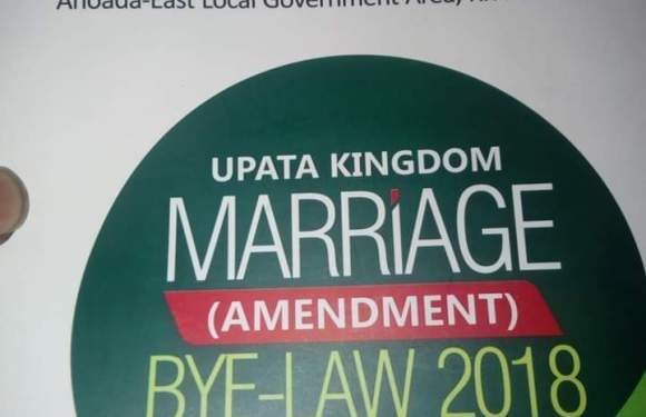 Rivers State Community Drafts Bride Price Constitution (Photos)