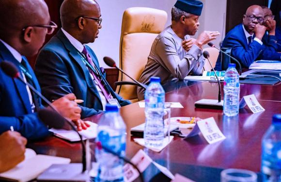Vice President Osinbajo Hosts NLNG In Abuja (Photos)