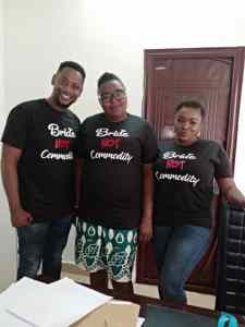 Nollywood Actress/Entreprenuer Aniebiet Francis and Friends Flags Off 'Bride not Commodity' Campaign