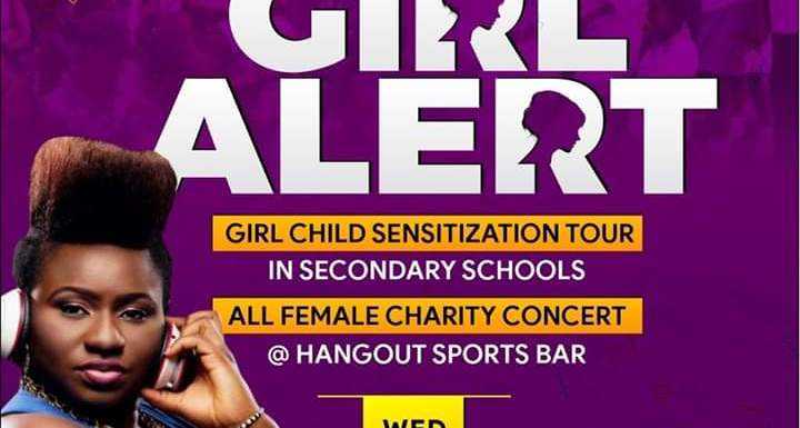 #GirlAlert: DJ Ritzy debuts in style (See pictures of Schools tour & Concert to celebrate the Girl Child)