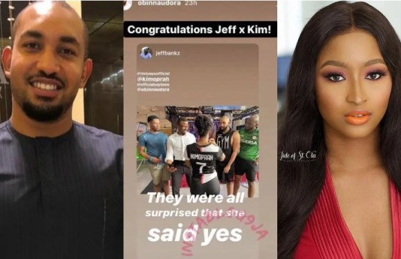 BBNaija: KimOprah reacts to rumour of her engagement to Ex-housemate, Jeff