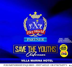 Save the Youths Conference' with felix nkuh of flex world