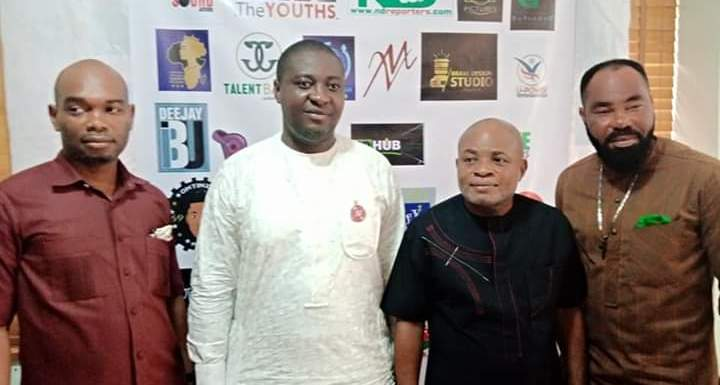 Top Nollywood actor task youths on Career Choice as Council Boss bags Award (Pictures)