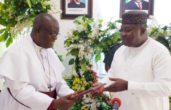 CAN visits Gov. Ugwuanyi, rates Enugu high on peace, security