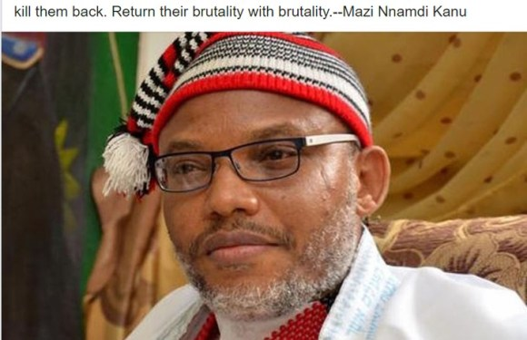 Uzodinma is dubious – Nnamdi Kanu on IPOB hijacking ESN from Southeast govs