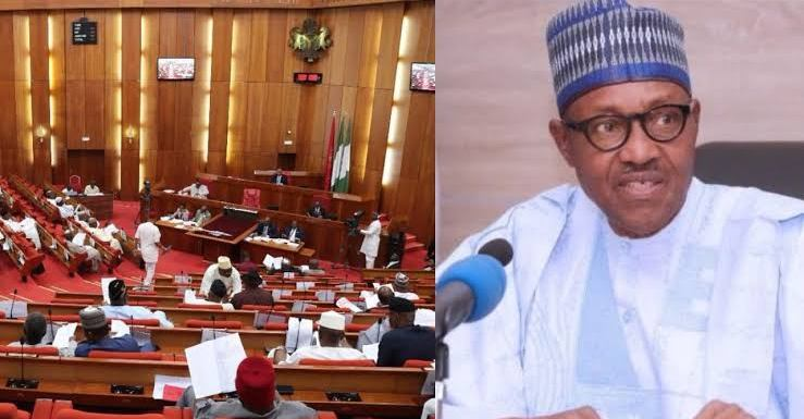 Senate receives Buhari's request to confirm Yakubu as INEC Chairman for second term