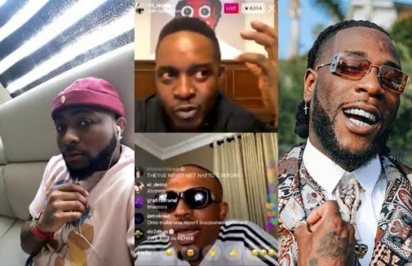 Burna Boy vs Davido: Naeto C, M.I Abaga air out their views on who's the best [VIDEO]