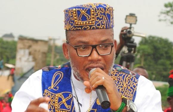 Blocking foodstuff from North to South an act of war' – Nnamdi Kanu