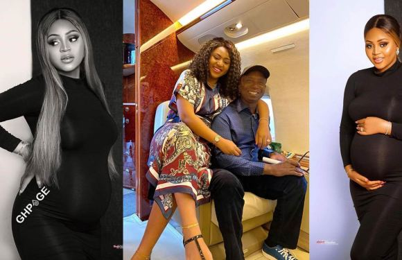 Nollywood actress, Regina Daniels, husband, Ned Nwoko, welcome first child