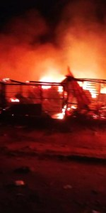 Marian Market gutted by Fire as Properties worth millions destroyed