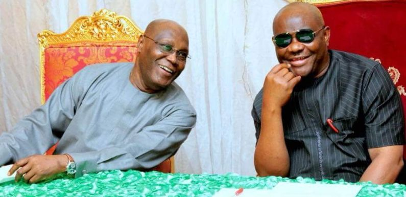 Atiku reacts as Wike, Fintiri gets new appointment