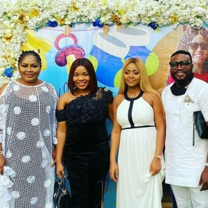 Regina Daniels and Ned Nwoko's son naming ceremony in pictures