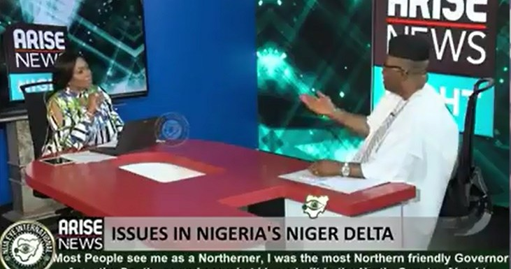 """NDDC Fraud: """"I Love Women, That's Why I Never Wanted It To Be Made Public"""" – Akpabio On Joy Nunieh (video)"""