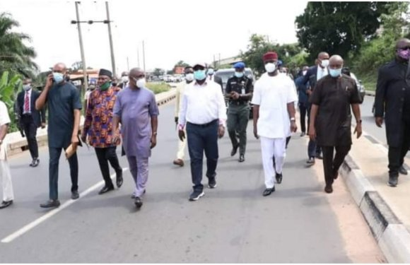 Abia: Ikpeazu commences inspection of completed road projects [PHOTOS]