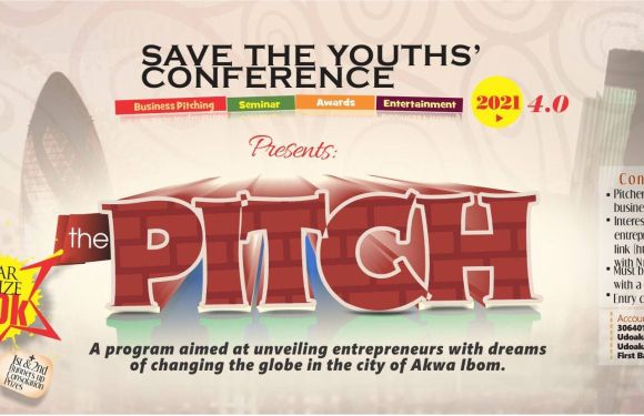 'Save the Youths' Conference 2021 births new Competition; N50,000 to be won (Details on how to enter)