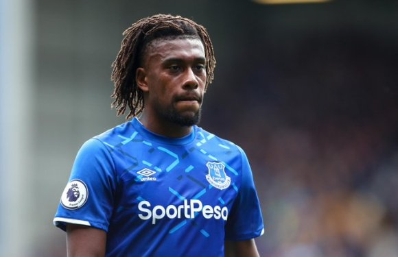 Iwobi dropped from Everton squad for second consecutive game