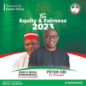 2023: Campaign poster Peter Obi for president, Kwankwaso for VP emerges