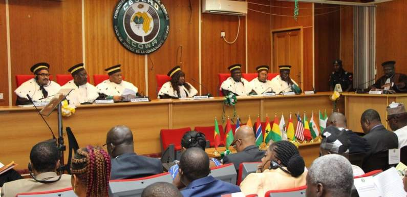 ECOWAS Court orders FG to pay N20m to two Nigerians
