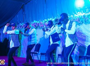 Laff Nation makes History with 'Ufok Akam' live on stage in Uyo