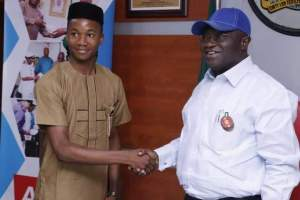 17 year-old Nicholas Ogunji emerges One Day Governor of Abia
