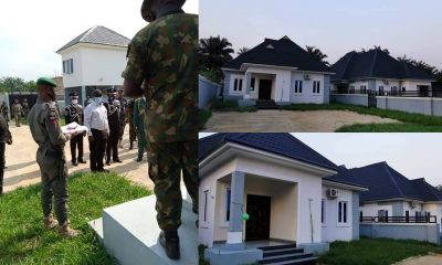 Abia's Ikpeazu presents 2 new houses as official quarters to Security Chiefs 12