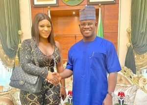 'Some women will not make heaven' – Destiny Etiko under attack for appearing 'indecent' before Gov Yahaya Bello