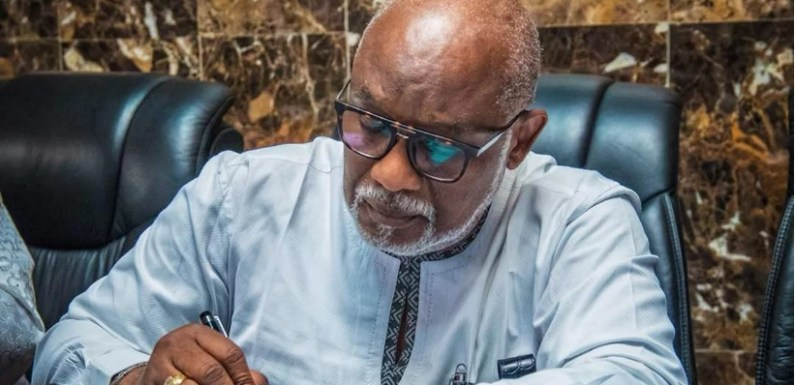 Akeredolu appoints new CPS, retains Ale as CoS