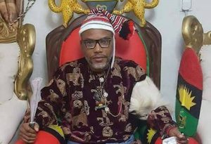 Nigerian military bombing, secretly killing Igbos – Nnamdi Kanu alleges