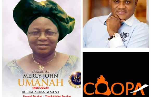 COOPA condoles with Aniekan Umanah over mother's death