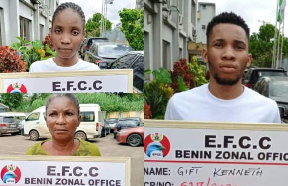 Man, mother, girlfriend jailed for internet fraud in Asaba