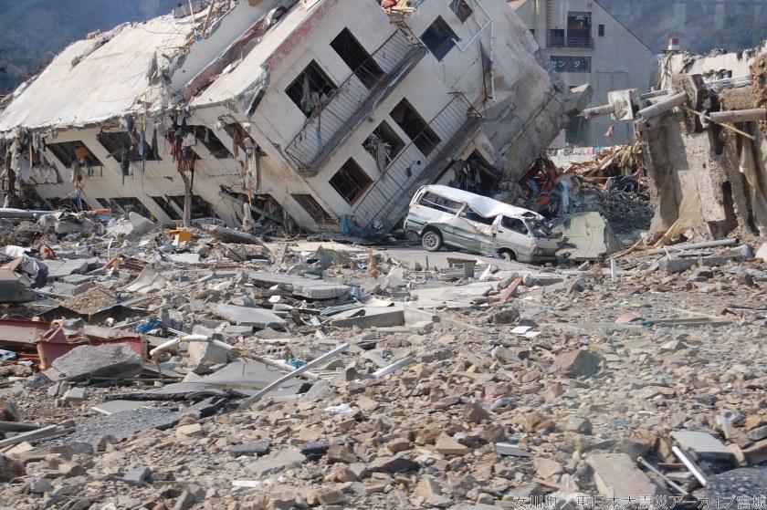 津波被害 女川共同ビル