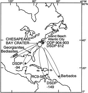 The Chesapeake Bay Impact Crater
