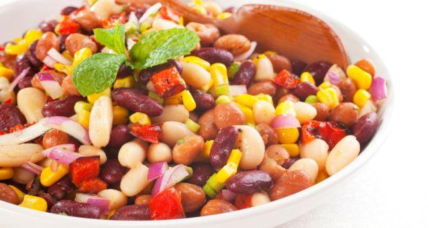 Mixed Bean Salad Recipe - NDTV Food