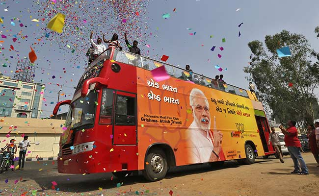 Election Results 2014: Early Counting Puts Narendra Modi on Course for Resounding Win