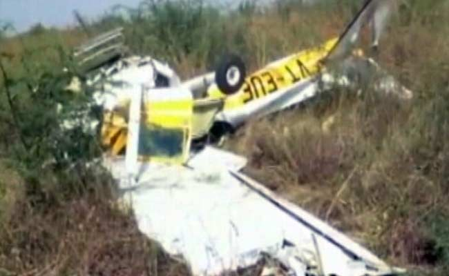 Aircraft at Indore Flying Club Crashes, Two On Board Injured