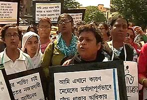 Protests outside Mamata's house over report that claims Bengal is unsafest for women