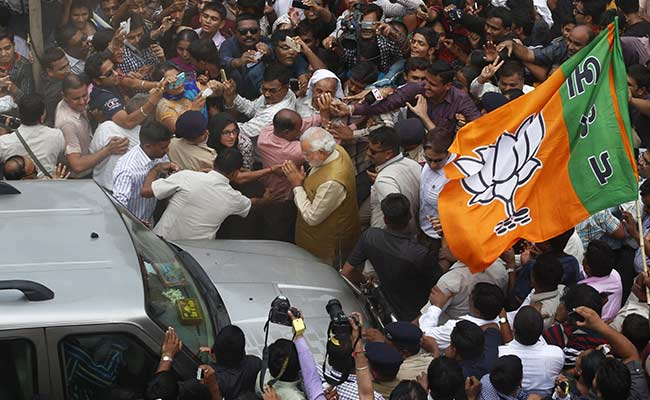 Election Results 2014: Narendra Modi Wins India. BJP and Allies to Cross 300 Seats.