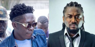 "Dancehall King, Shatta Wale has extended felicitations to his 'arch rival' and colleague musician, Samini as the year (2018) was being ushered in. The 'Freedom' hitmaker, twitted, ""happy new year…. @samini_dagaati .. Love always bro… i love your style this year but next year Ghana will see our magic… salute!!!!!."" He also sent his happy new year messages to Sarkodie and Stonebwoy. Amid the numerous controversies and public ""insanity"" the 'Ayoo' hitmaker remains to be one of the most cherished musicians Ghanaians cannot do without in the entertainment industry. Shatta Wale without a doubt has been the most talked about Ghanaian musician in 2017 but in spite of the heavy attention he has drawn to himself it seems to have paid off for him."