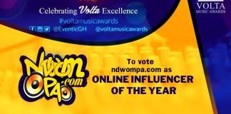 Volta Music Awards Nominates 'NdwomPa.com' For2018 Awards