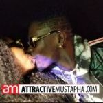 Shatta Wale kisses Shatta Mitchy in his brand new Dodge Charger