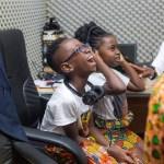 Okyeame Kwame's kids hit the studio for new single