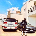 Shatta Wale customizes his new Benz 'Advice' after Sarkodie diss