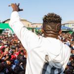 #ReignAlbum: Shatta Wale Sheds Tears On Stage | WATCH