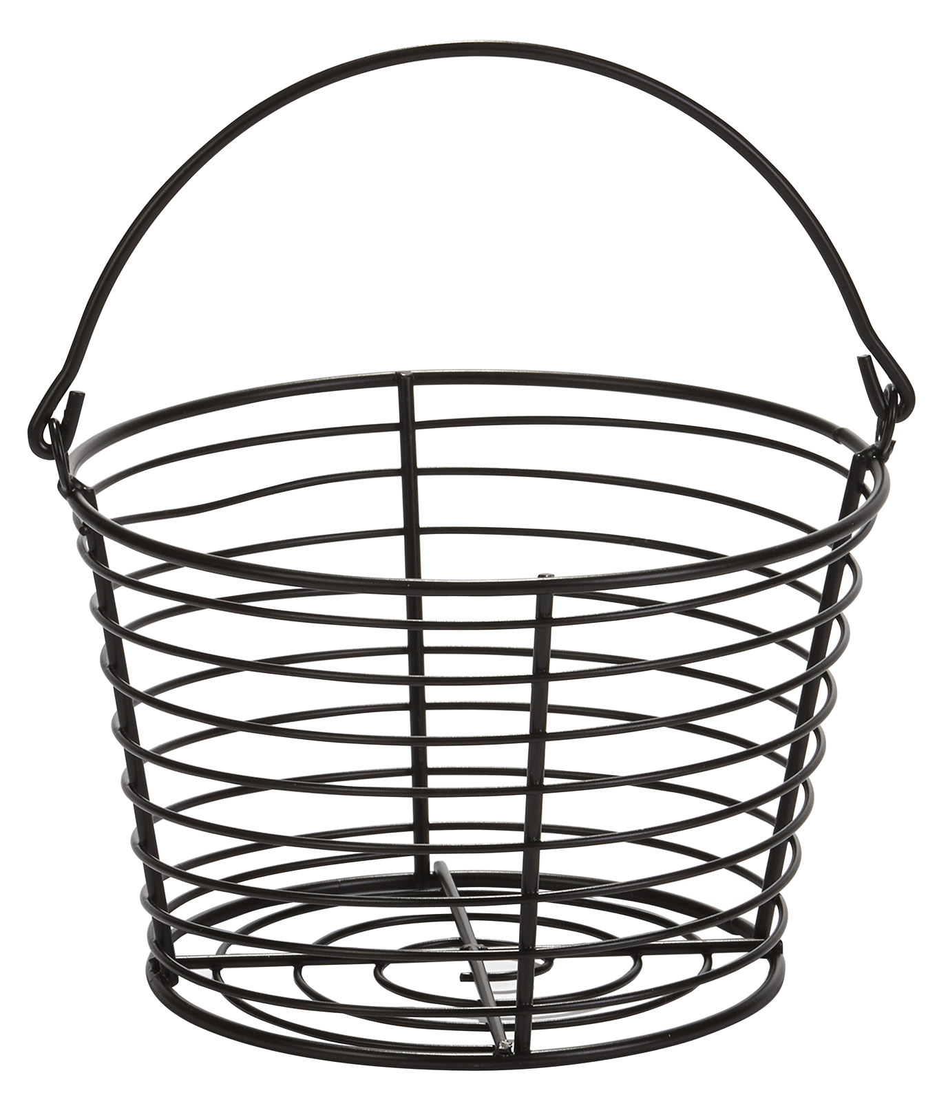 EGG BASKET SMALL PLASTIC COATED WIRE 8