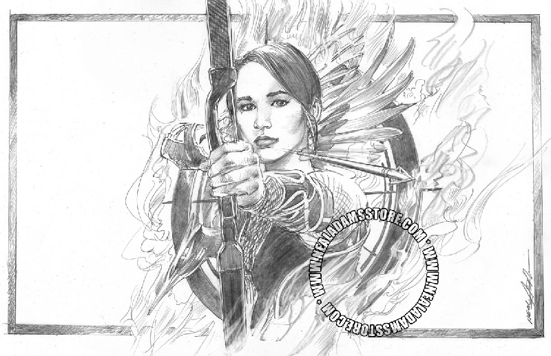 Free coloring pages of hunger games