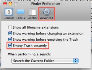Advanced Finder Preferences