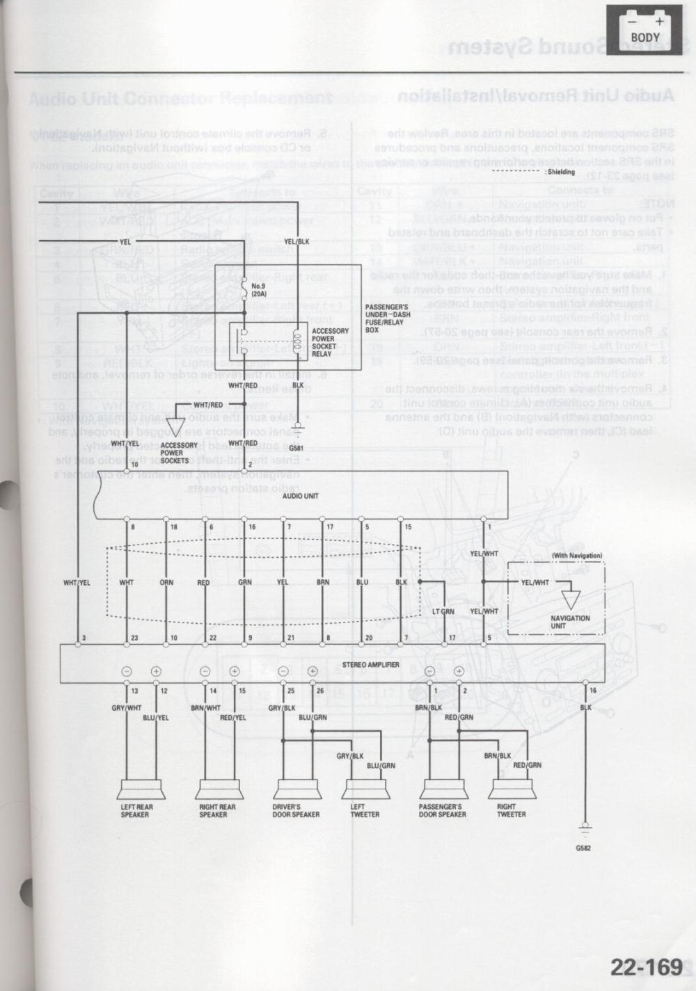 hight resolution of 2003 acura tl bose factory amp wiring diagram