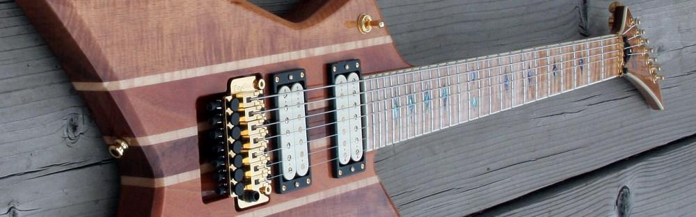 medium resolution of  basilisk guitar binding the headstock faststar 7